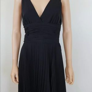 Chifon Pleated Coctail Dress